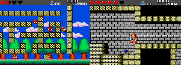 how to get over 60 coins in wonderboy in monsterland