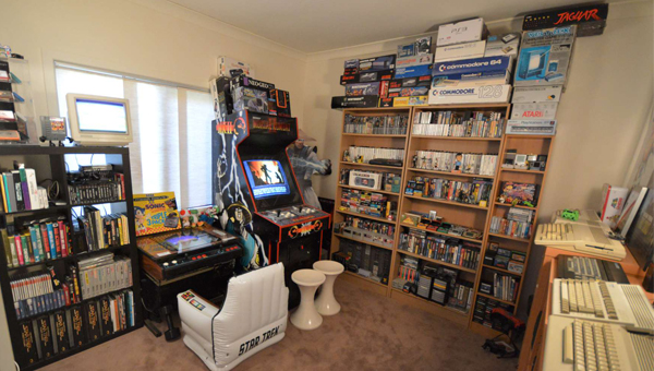 James Matson S Awesome Game Room Tour Retro Domination